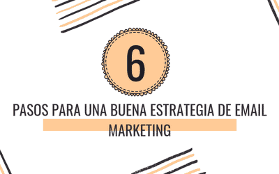 6 PASOS PARA UNA BUENA ESTRATEGIA DE EMAIL MARKETING